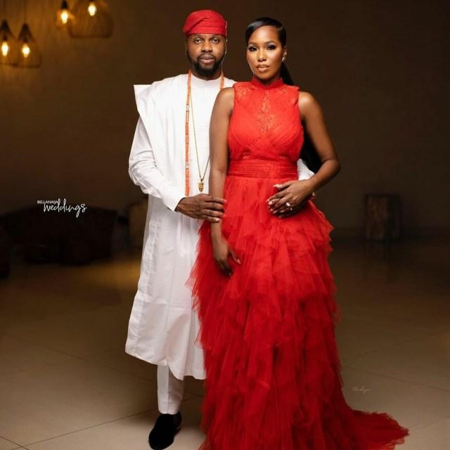 Pre-wedding photos of Debola Williams and his wife, Kenny Daniel
