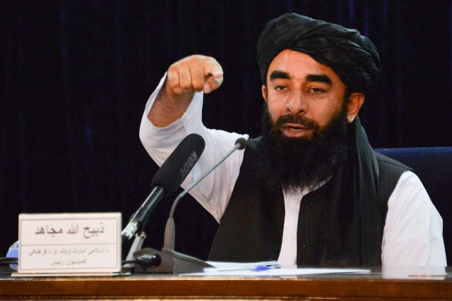 Taliban leader says music will once again be banned publicly in Afghanistan