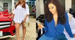 Mercy Aigbe uses are set INJURIES to promote her new movie