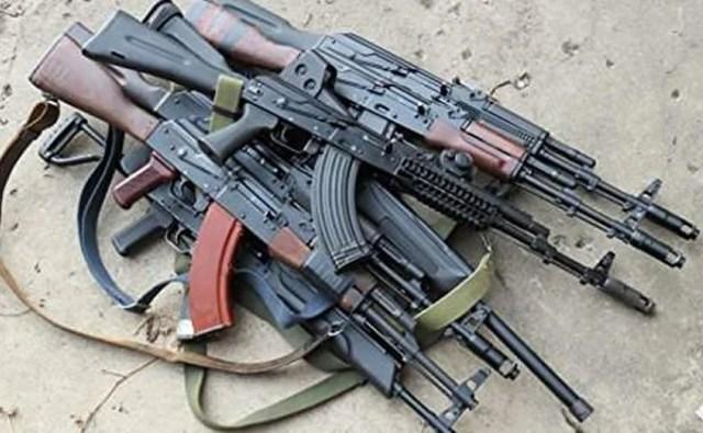 Local blacksmiths, manufacture AK-47