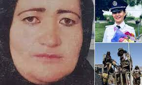 Taliban 'kill pregnant police officer in front of her family