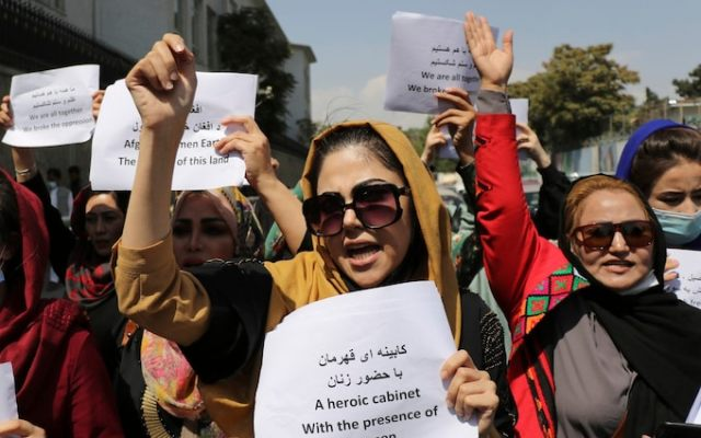 Taliban shuts down women's ministry, replaces it with morality police