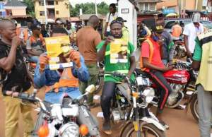 Accord Party Governorship candidate in Anambra allegedly gives free fuel to Keke and Okada riders [photos]
