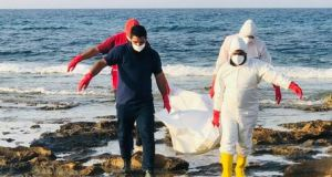 Bodies of 17 people washed ashore in Libya