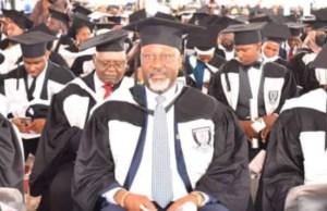 Dino Melaye graduates from Baze University, emerges best graduating law student