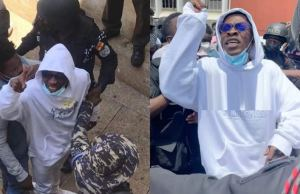 Inmates excited as Shatta Wale arrives Ghanaian maximum prison