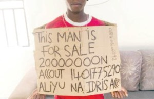 Kano man who put himself up for sale at N20m is arrested
