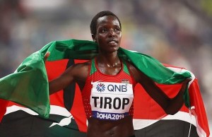Kenyan Olympic Gold medalist stabbed to death, husband first suspect, President mourns