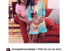 Mercy Johnson cries out as her 8-year old daughter gets bullie din school