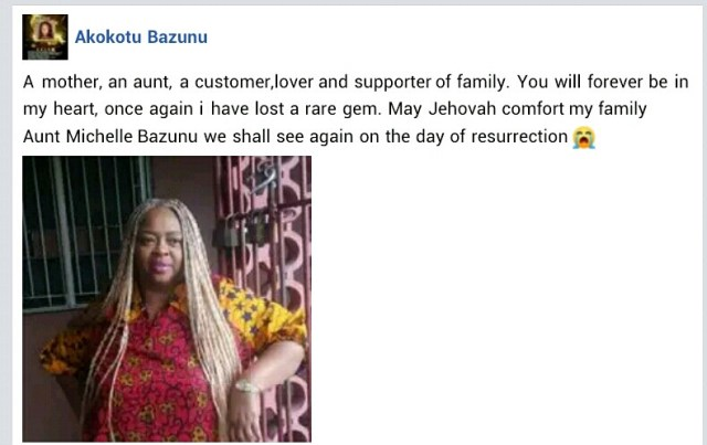 Nigerian woman found dead with throat slit inside her apartment in warri