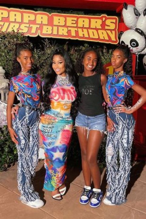 Photos from Nicki Minaj's son' First Birthday party