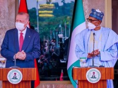 Terrorists who tried to overthrow me are in Nigeria – Turkey President claims