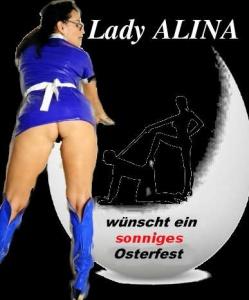 Lady Alina wünscht sonnige Ostern