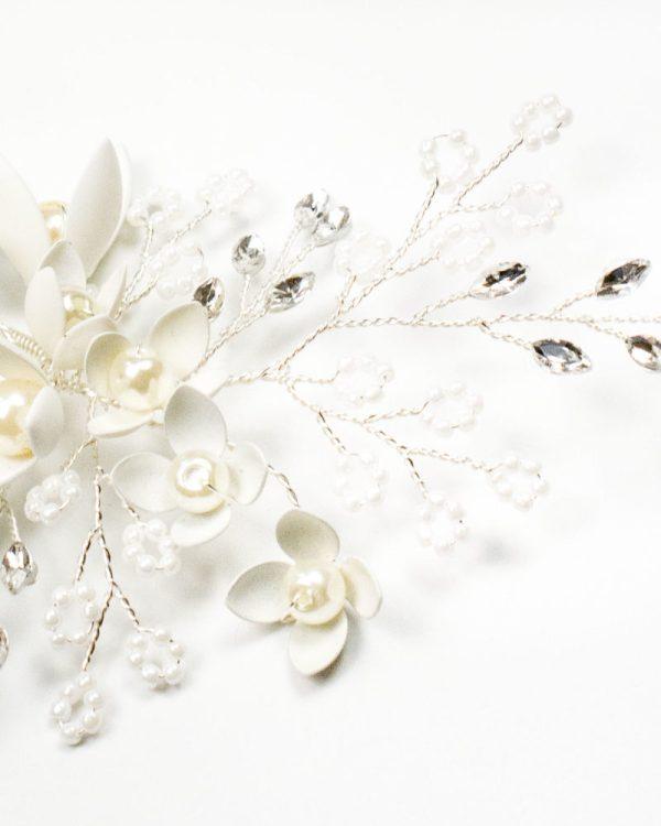 épingles à cheveux mariage avec fleur