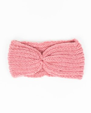 bandeau cheveux femme hiver rose