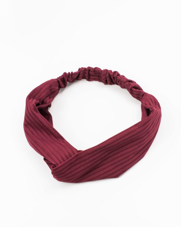 Headband rouge bordeaux