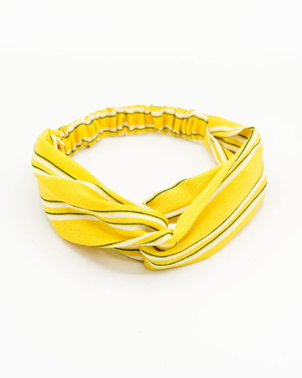 Headband pour femme jaune