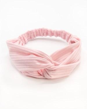 bandeau cheveux rose pour femme