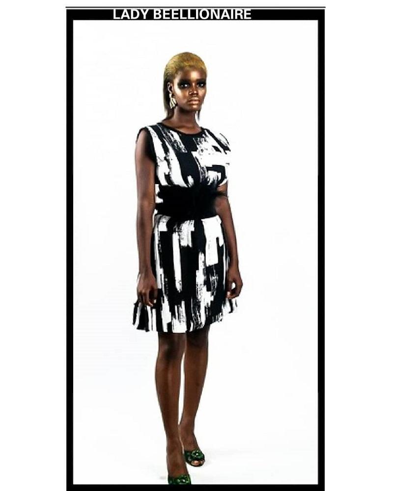 LadyBeellionaire Anna Shift dress unboxedcollection Look 3