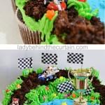 Mario Kart Cupcake Pull Apart Cake Lady Behind The Curtain