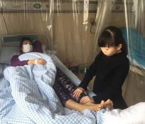 Ad 8 anni ingrassa per donare midollo ossesso alla madre (3)