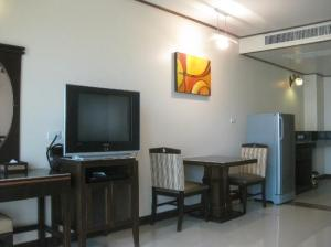 Citin Loft Pattaya room with amenities Big TV, Fridge