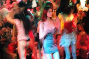 Patong disco where you can find ladyboys