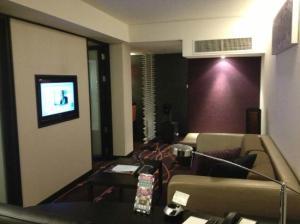 Residence Bangkok Sukhumvit living room