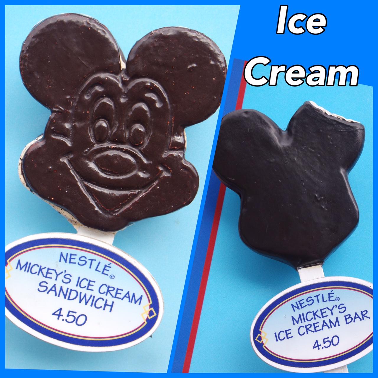 Mouse Sandwich Mickey Cream Ice