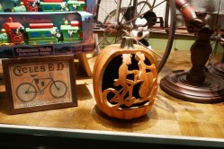 Emporium - Bicycle Built for Two pumpkin | Photo credit: Krista
