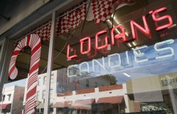 This is the place! Logan's Candies in Ontario, California | Photo credit: Krista