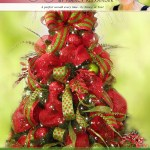 Deco Mesh Christmas Tree Ladybug Wreaths By Nancy Alexander