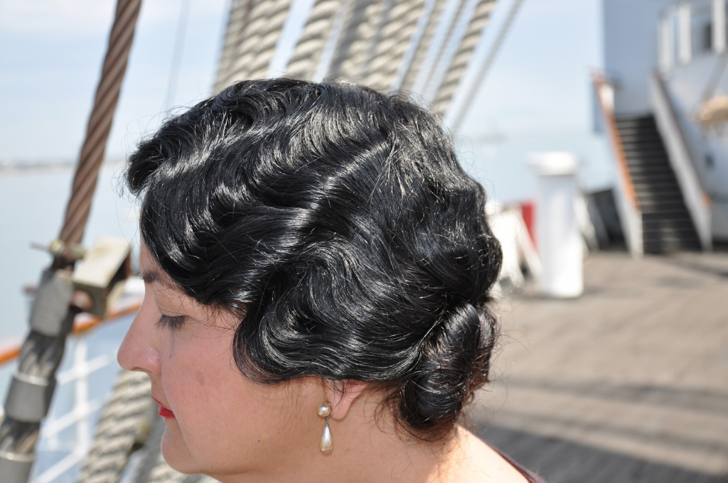 Queen Mary Art Deco Festival 1930s hair