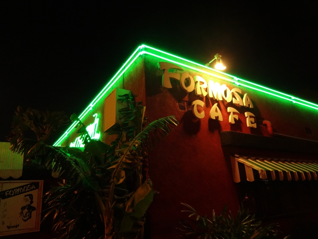 Lady by Choice - Formosa Cafe exterior
