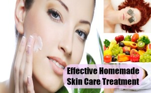 Effective Homemade Skin Care Treatment