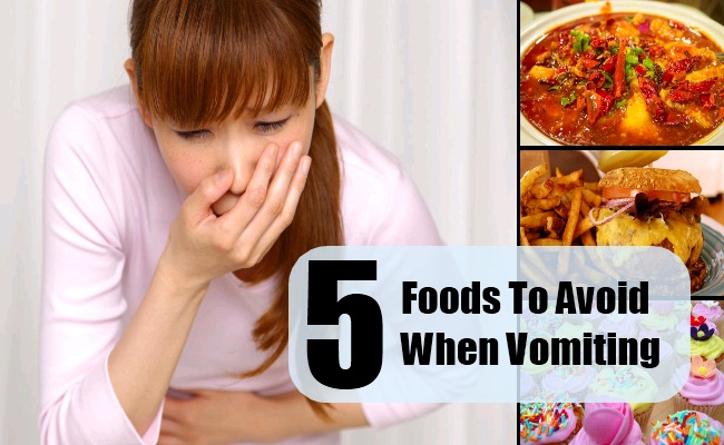 Foods To Avoid When Vomiting