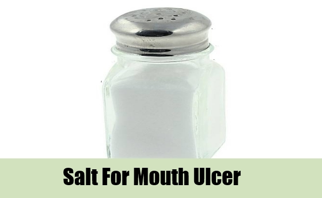 Salt For Mouth Ulcer