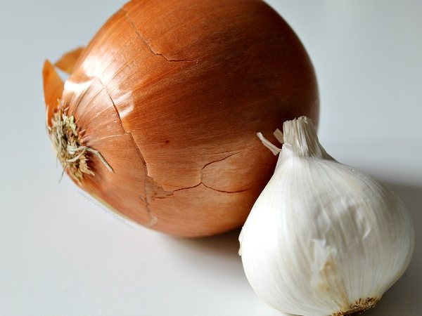 Garlic With Onion Juice