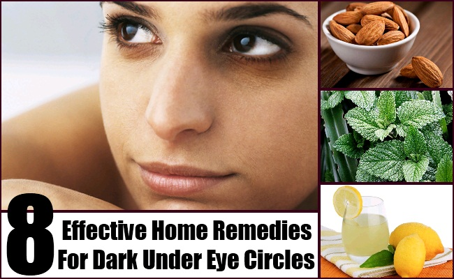 Home Remedies For Dark Under Eye Circles
