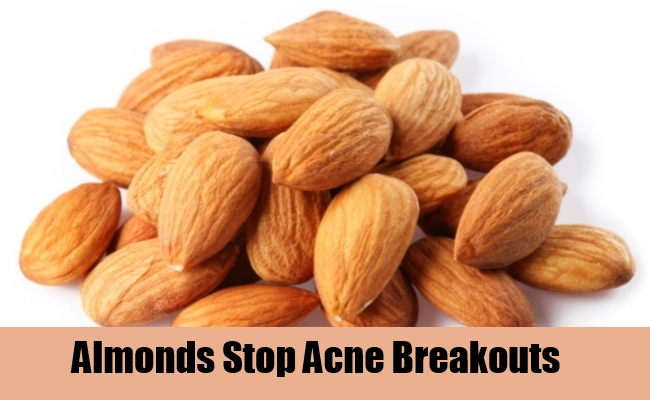 Almonds Stop Acne Breakouts