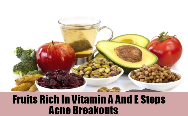 Fruits Rich In Vitamin A And E Stop Acne Breakouts