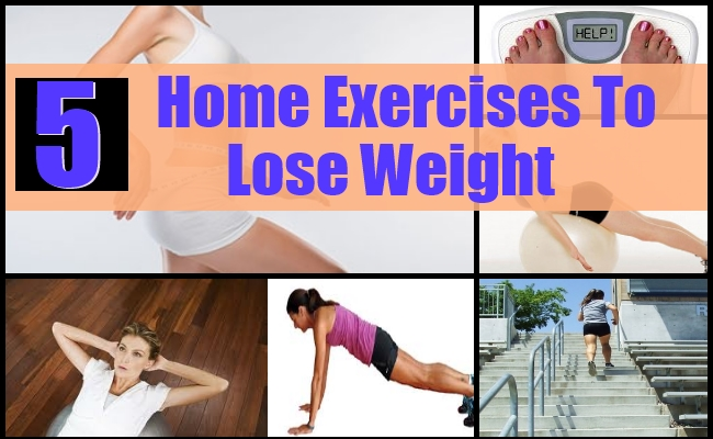 Home Exercises To Lose Weight Effectively