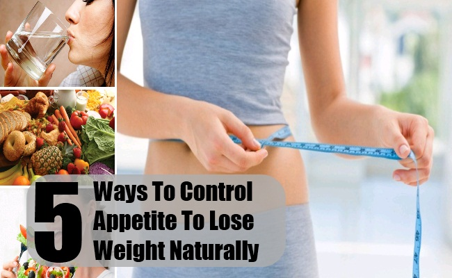 Ways To Control Appetite To Lose Weight