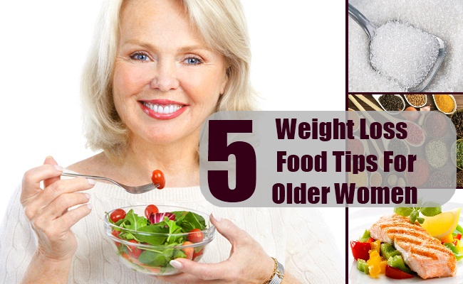 Weight Loss Food Tips For Older Women
