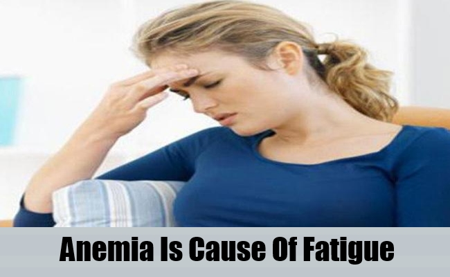 Anemia Is Cause Of Fatigue