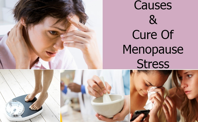 Causes & Cure Of Menopause Stress
