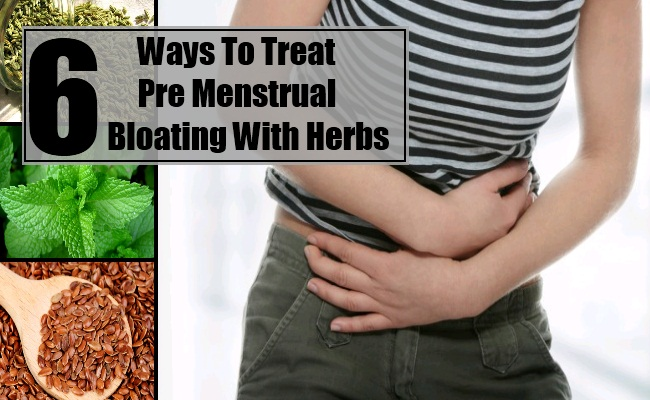 Pre Menstrual Bloating With Herbs