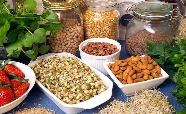 Foods Rich In Dietary Potassium, Iron And Magnesium