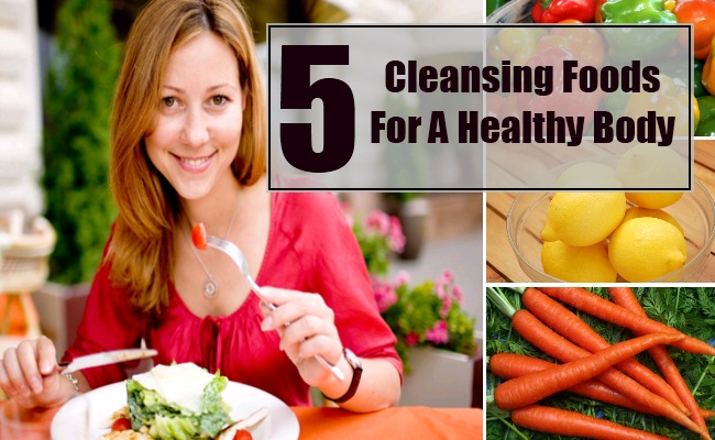 Cleansing Foods For A Healthy Body