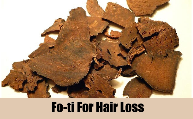 Fo-ti For Hair Loss